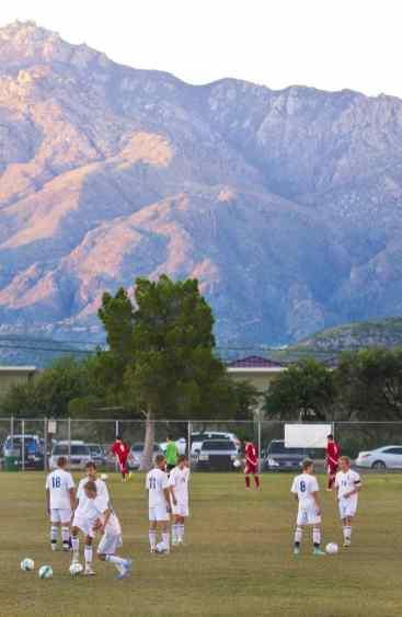 soccer players teams Udall Park