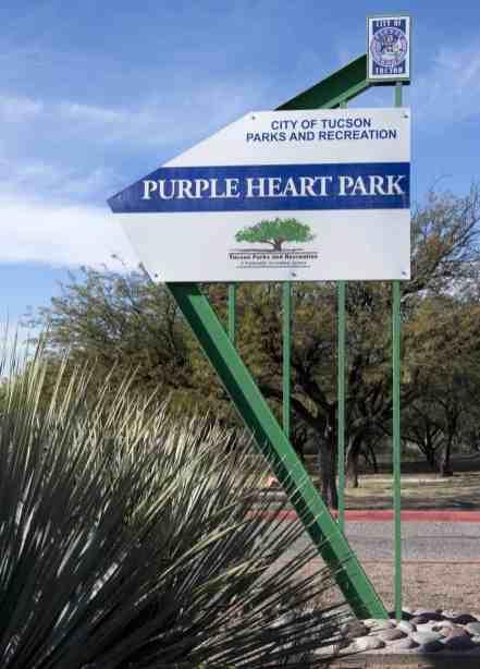 Purple Heart Park Tucson