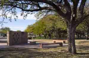 Purple Heart Park memorial