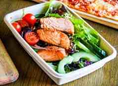 salmon salad JW Market Starr Pass