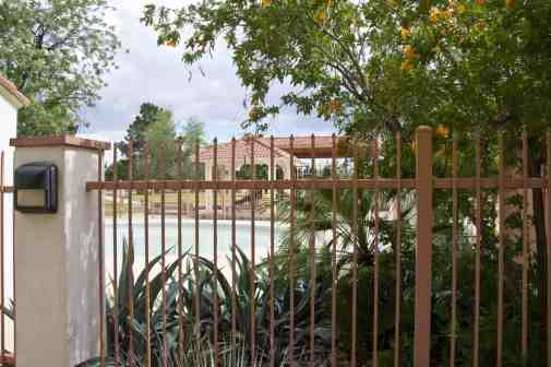 fence Catalina Park Splash Pad