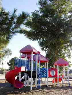 kids playground playscape Fort Lowell Park