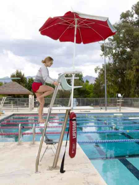 lifeguard Fort Lowell Pool