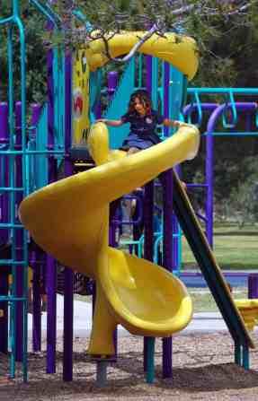 slide playground La Madera Park