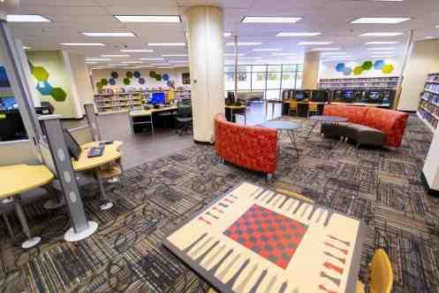 children's room carpet renovations Joel D Valdez Main Library Tucson