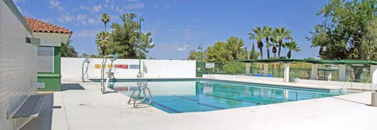 swimming pool diving board Himmel Tucson