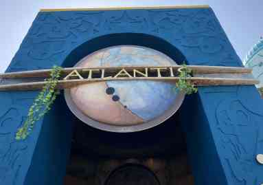 Atlantis ride Seaworld San Diego