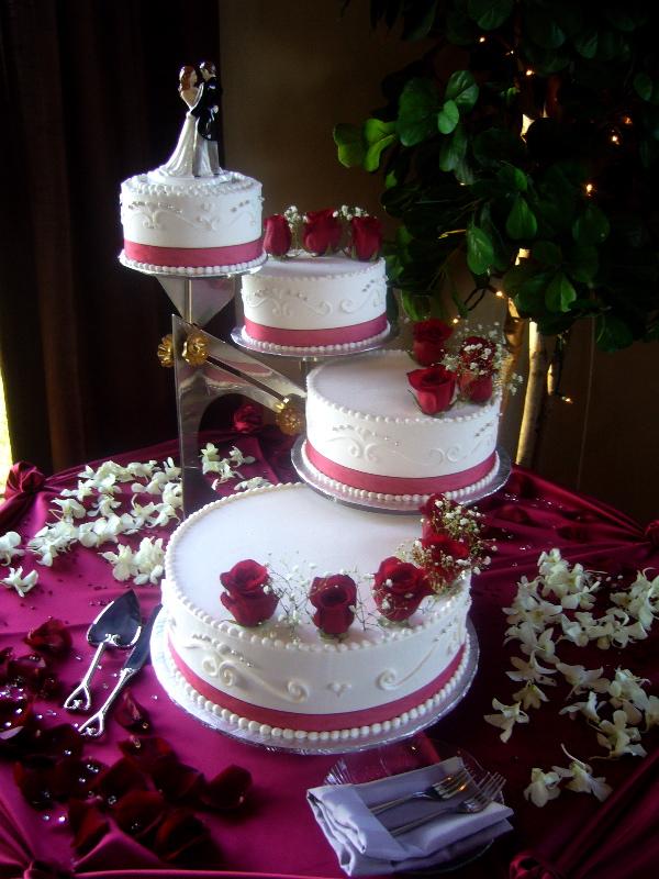Beautiful Easy To Make Wedding Cake Photo 10