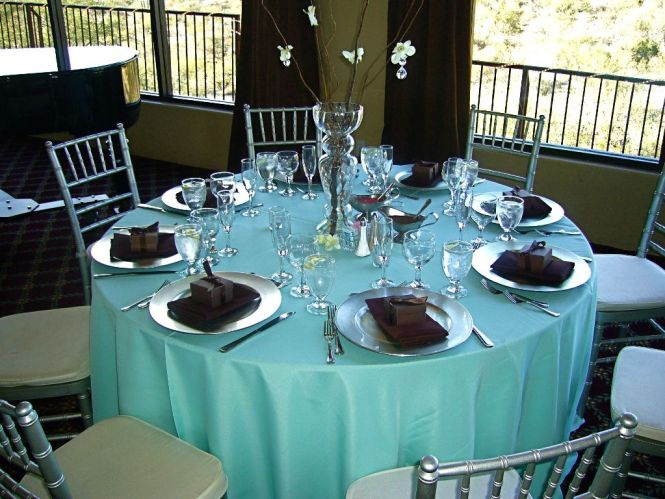 Chocolate Brown And Bright Teal Wedding Weddings Style Decor Planning Forums Weddingwire