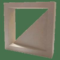 Elemento Vazado de Concreto Pirâmide