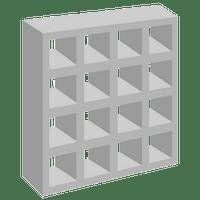 Elemento Vazado de Concreto 16 Furos