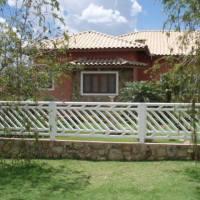 Grade de Concreto Diagonal fachada