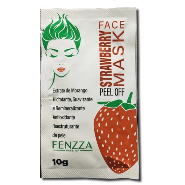 mascara facial strawberry mask da Fenzza