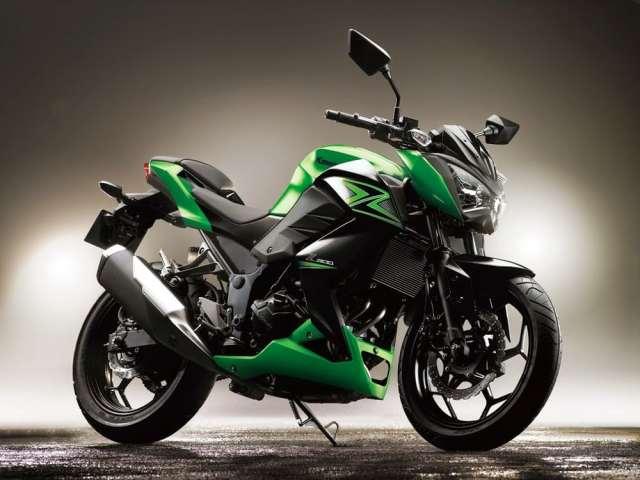 Kawasaki anuncia a chegada da Z300 no Brasil