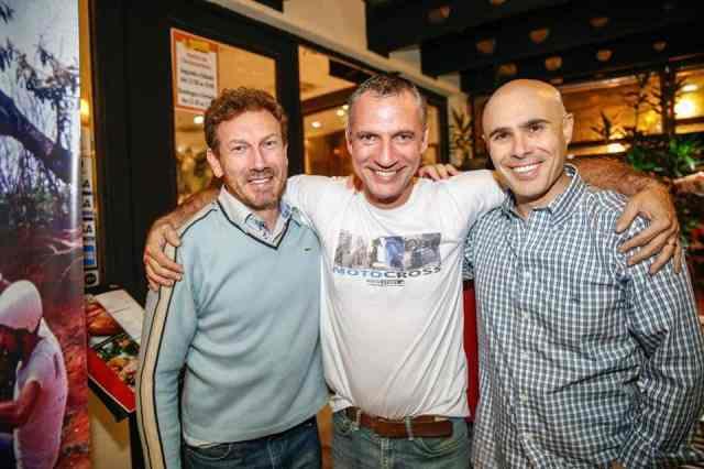 Negretti, Carlãozinho e Nuno Narezi – Foto: Haroldo Nogueira / Shez Studio