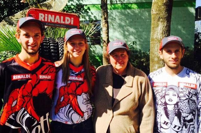 Dia das Mães do motocross tem três irmãos na pista no RS