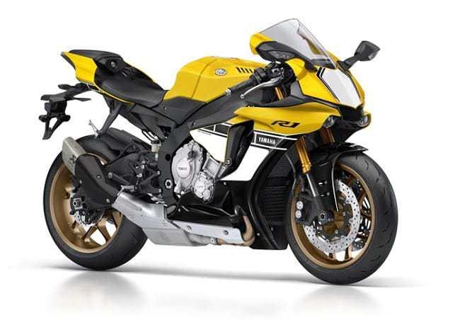 Yamaha R1 faz 60 anos e lança edição comemorativa