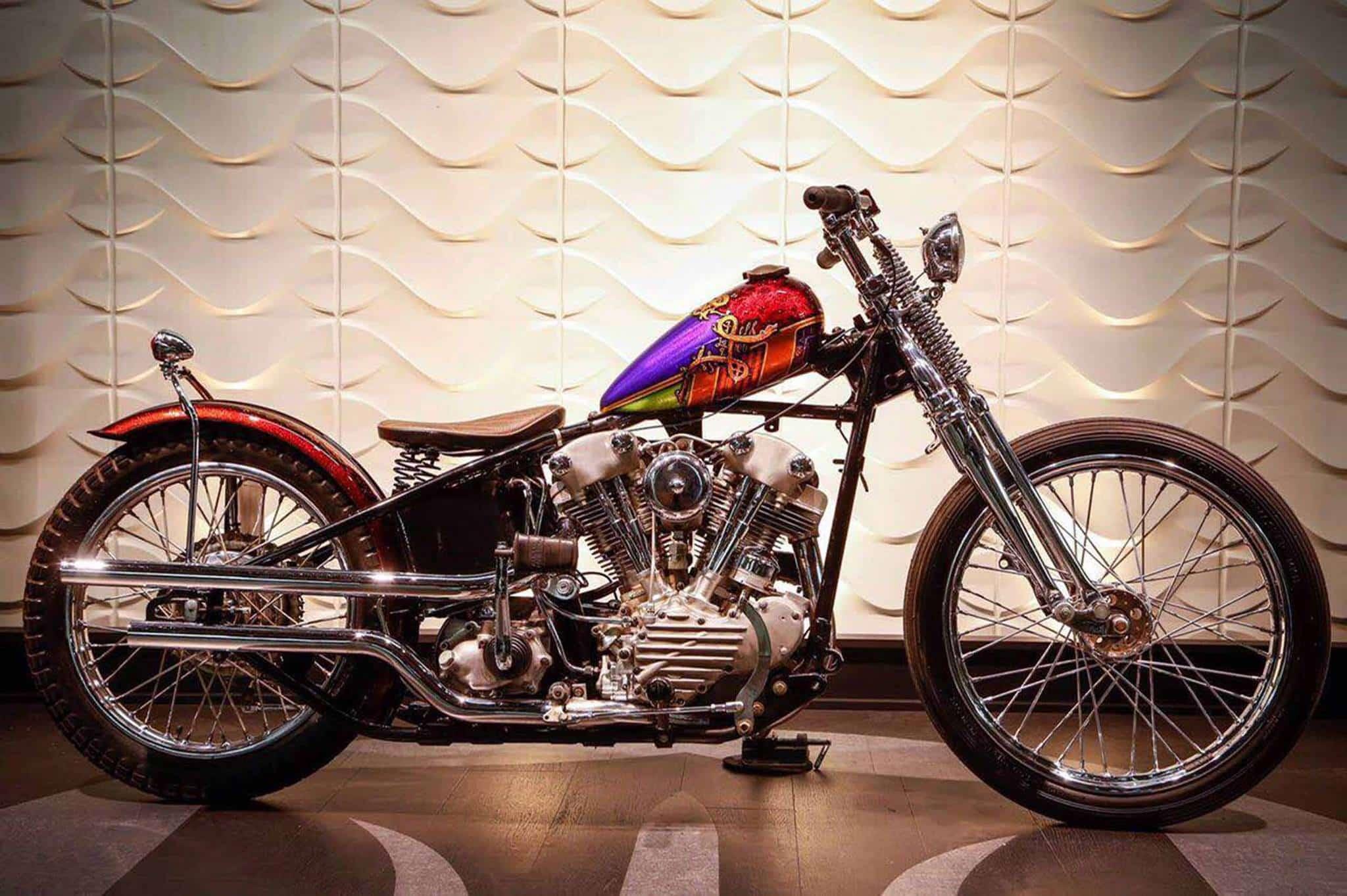 Harley-Davidson Knucklehead, de 1947