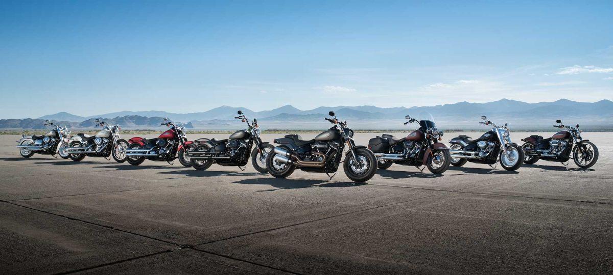 Harley-Davidson e seus novos modelos 2018