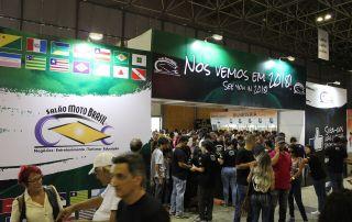 Salão Moto Brasil 2018: de 25 a 27 de maio   Riocentro  RJ