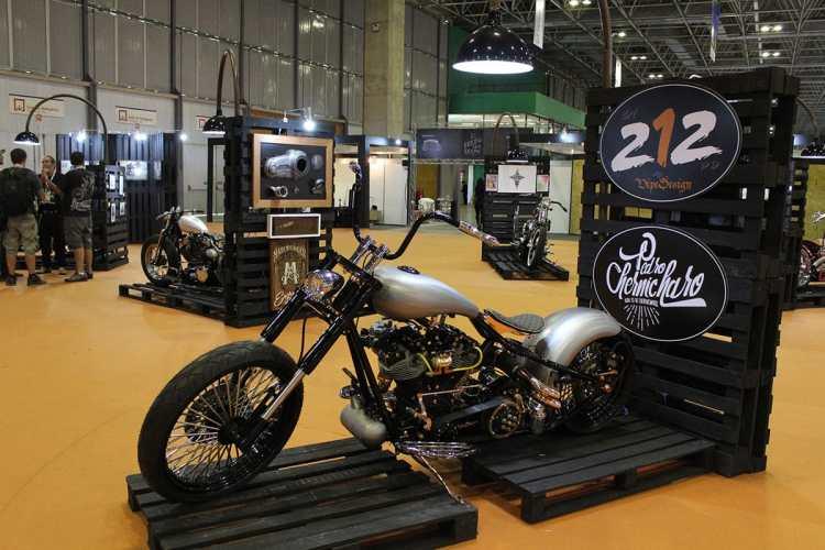 Bike & Art Show virou uma atração a parte no SMB