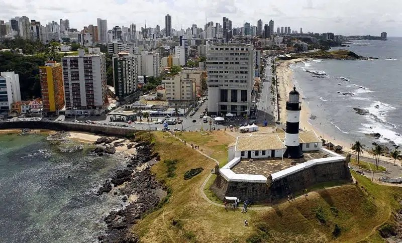 Farol da Barra - Salvador - Local escolhido para bater o record de Hayabusas