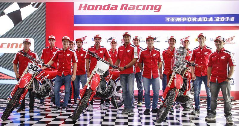 Equipe Honda Off Road 2018