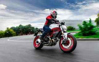 Ducati Monster 797 - lançada em junho de 2018, o modelo resgata o ícone Monster, lançado pela Ducati há 25 anos.