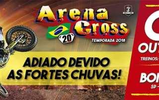 Arena Cross Brasil – terceira etapa da competição é adiada
