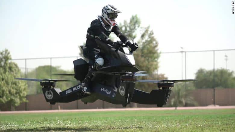 Polícia de Dubai vai usar motos voadoras já em 2020