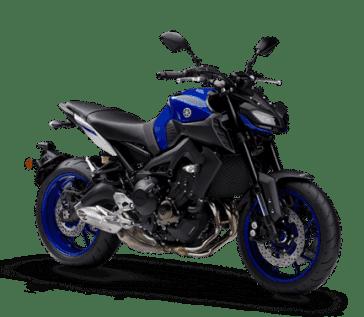 MT-09 azul (Racing Blue)