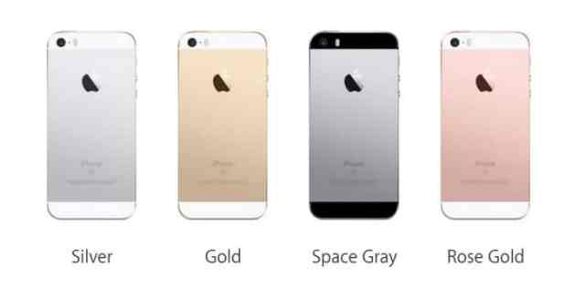 iPhone SE Cores