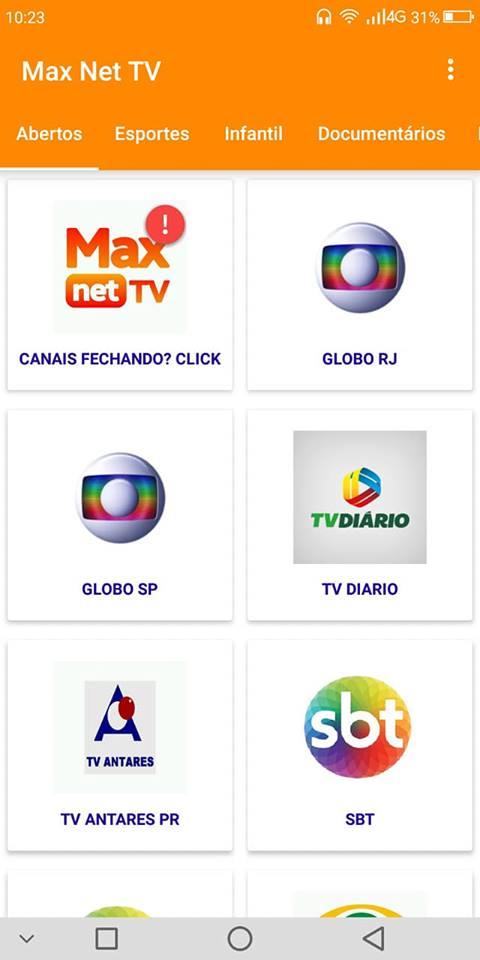Melhor app de TV para Android 2018