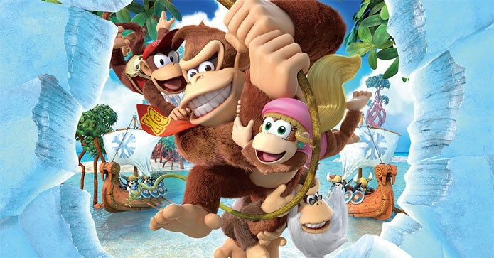 Donkey Kong Country: Tropical Freeze vem aí para o Wii U.