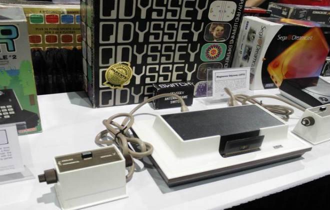 Imagens de uma das peças do Museu do Video Game Itinerante.