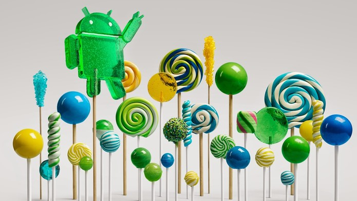Nova versão do Android vem ai com o nome de Android Lollipop.
