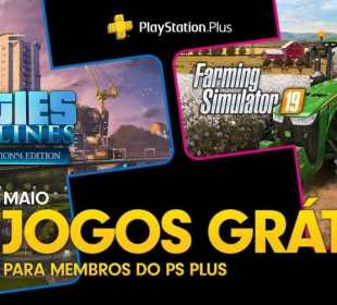 PS Plus Maio 2020