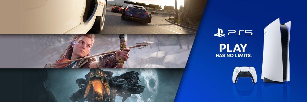 Ação promocional PS5