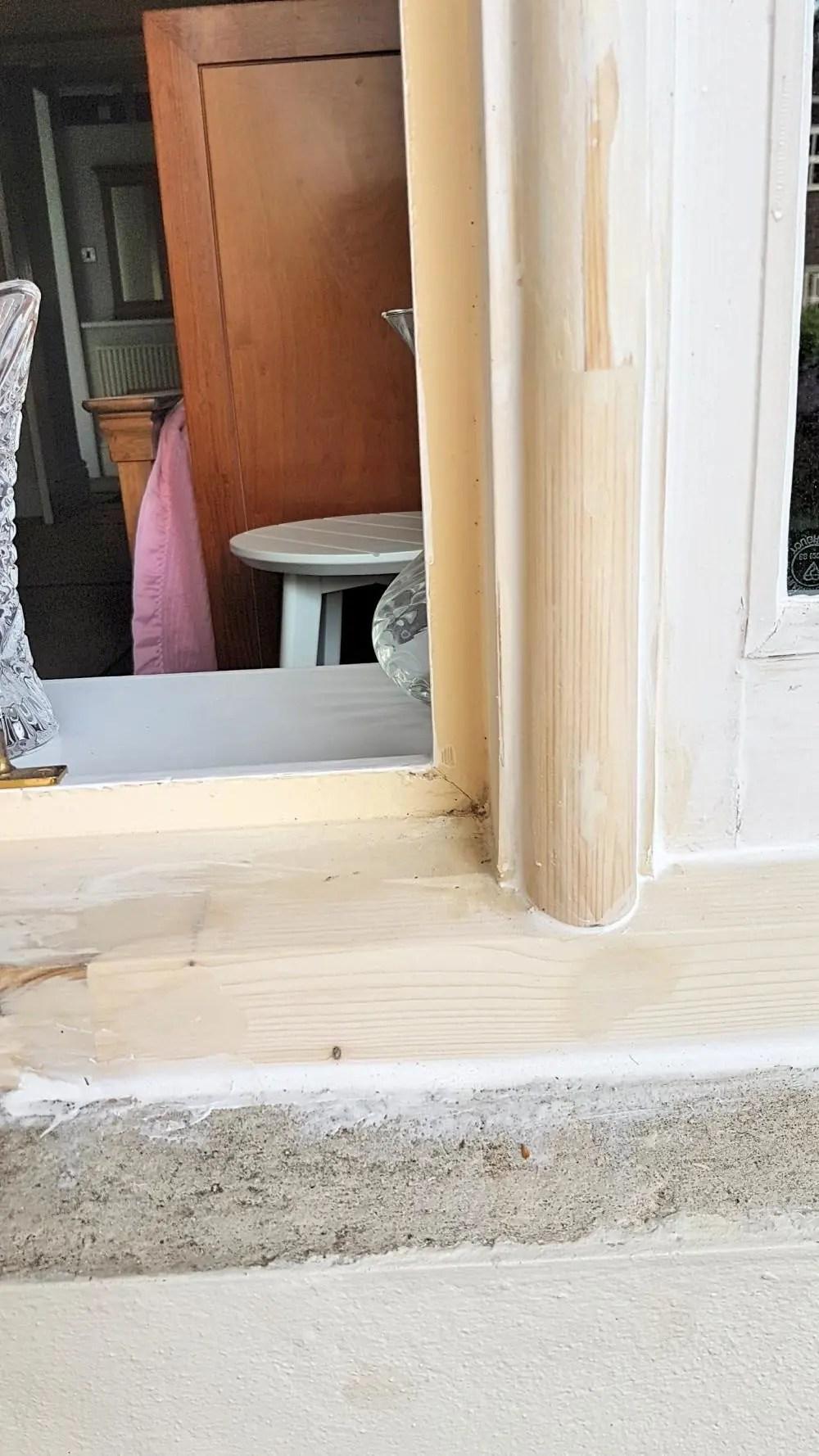 Shotton Hall Window Repair #1