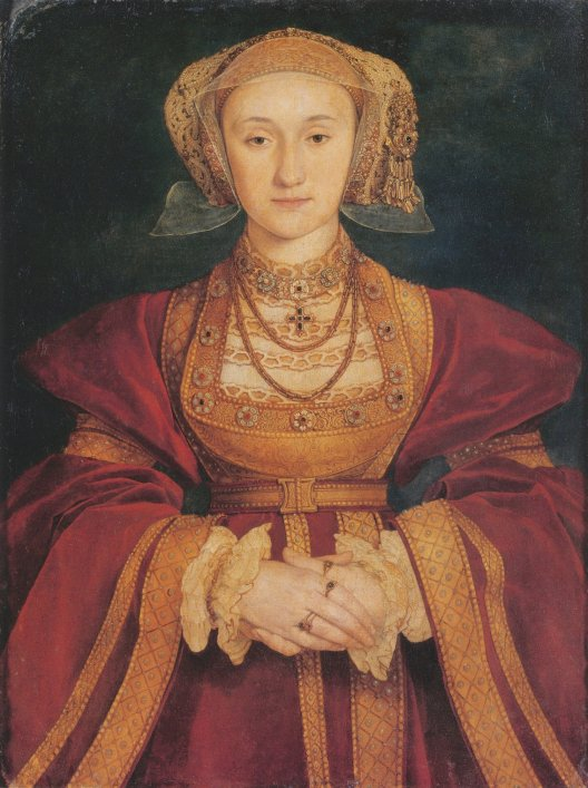 Portrait by Hans Holbein the Younger, c. 1539. Oil and Tempera on Parchment mounted on canvas, Mus�e du Louvre, Paris.