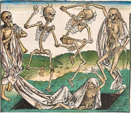 Danse Macabre (Wolgemut) - Public Domain