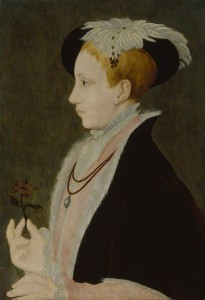 King Edward VI by Unknown artist, after Guillim Scrots (Guillim Stretes or William Scrots) oil on panel, circa 1546 18 5/8 in. x 11 in. (473 mm x 279 mm) Purchased, 1877 Primary Collection NPG 442