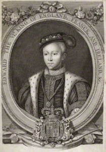 King Edward VI after Unknown artist line engraving, 18th century 13 1/8 in. x 8 1/2 in. (332 mm x 217 mm) paper size Reference Collection NPG D10555