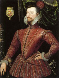 Robert Dudley, Earl of Leicester, 1575, aged about 43