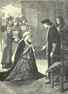 Henry VII receives Lady Katherine Gordon