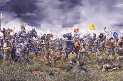 Battle of Flodden courtesy of http://www.douglashistory.co.uk/history/Battles/flodden.htm