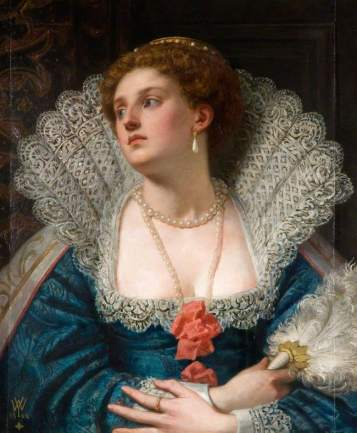 Amy Robsart (1532�1560) William Frederick Yeames (1835�1918) Wolverhampton Art Gallery