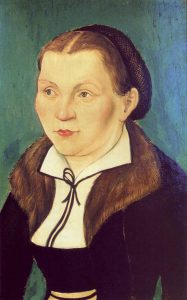 Katharina by Lucas Cranach the Elder (Courtesy WikiCommons)