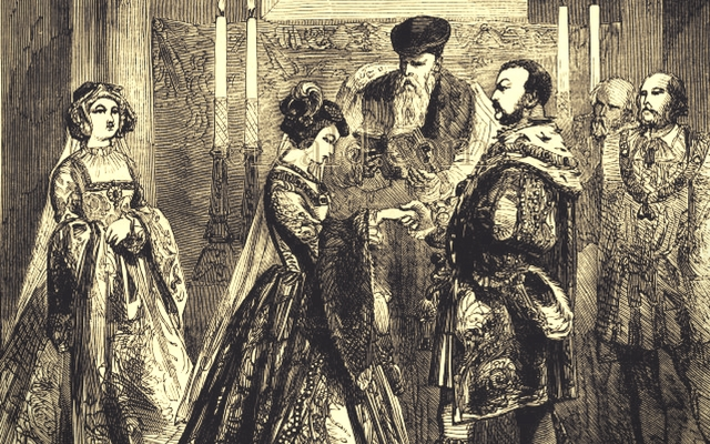 Private Marriage of Anne Boleyn to Henry VIII
