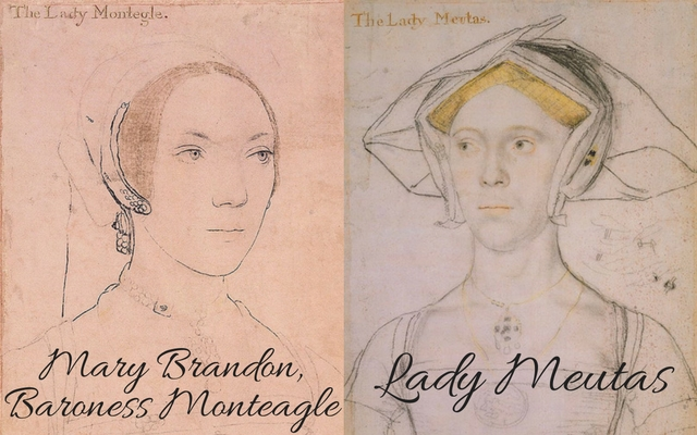 Mary Brandon, c.?1538 � c.?1540 and Lady Joan Meutas, c.?1536 � c.?1543